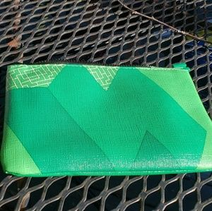 ☆☆☆ 5 for $20! NWT Green ipsy tetris makeup bag